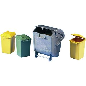 Refuse Bins 1 Large 3 Small