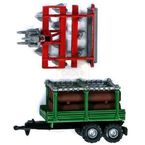 Timber Trailer and Cultivator 1 128 Scale