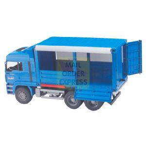 Bruder Top Pro Series Man Truck With Tilted Side