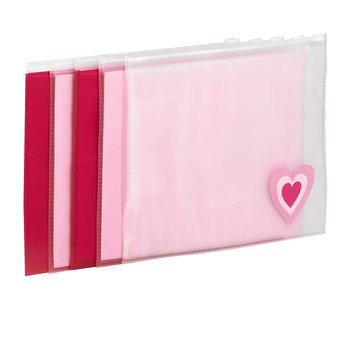 Pink Messy Bags - 5 Pack