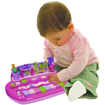 Pink Piano and ABC Shape Sorter Set