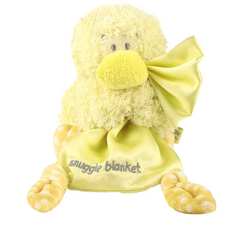 Snuggle Chums Musical Satin Blankie Toy - Duck