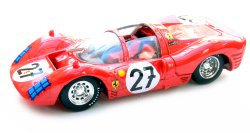 1:43 Scale Ferrari 330 P3 Spyder Le Mans 1966 - Ginther / Rodriguez