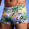 flower wave swim short