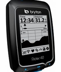 Rider 40T GPS Cycle Computer (Combo & HRM)