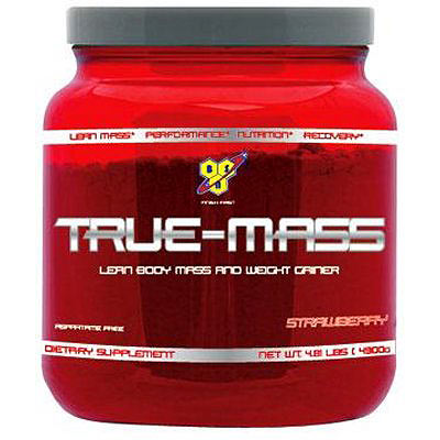 True Mass (2610g Tub) (4380 - Strawberry 2610g (5.75lbs))