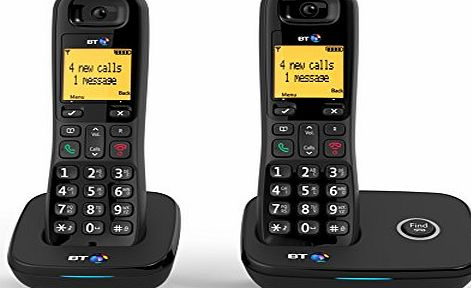 BT 1100 Cordless DECT Home Phone (Twin Handset Pack)