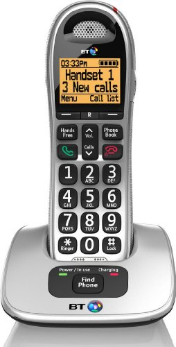 4000 Cordless Big Button Phone with Nuisance Call Blocker
