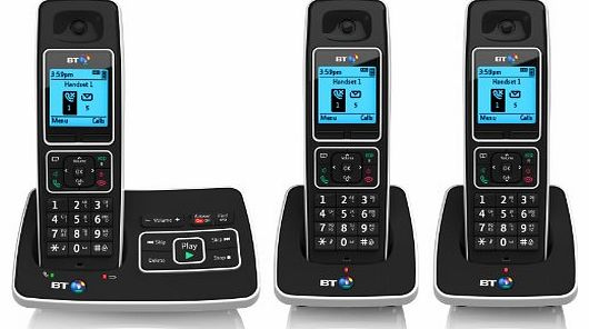 6500 Cordless DECT Phone with Answer Machine and Nuisance Call Blocking (Pack of 3)