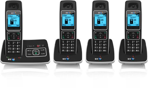 6500 Cordless DECT Phone with Answer Machine and Nuisance Call Blocking (Pack of 4)