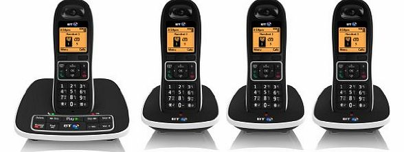 7600 Cordless DECT Phone with Answer Machine and Nuisance Call Blocker (Pack of 4)
