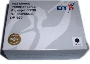 British Telecom PaperJet 55/65 OEM Black Ink