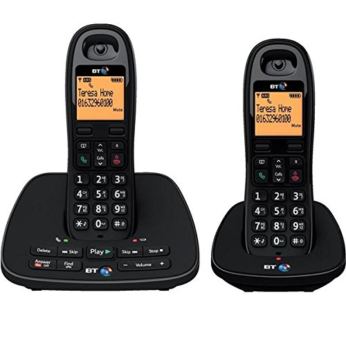 1500 TWIN Cordless Phone with Answering Machine ( DECT,Hands Free Functionality )