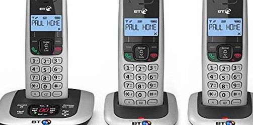 BT 3520 Cordless Telephone with Answer Machine - Triple.