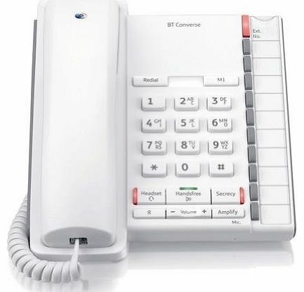 Converse 2200 Corded Telephone - White