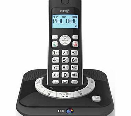 Cordless Telephone with Answer Machine - Single