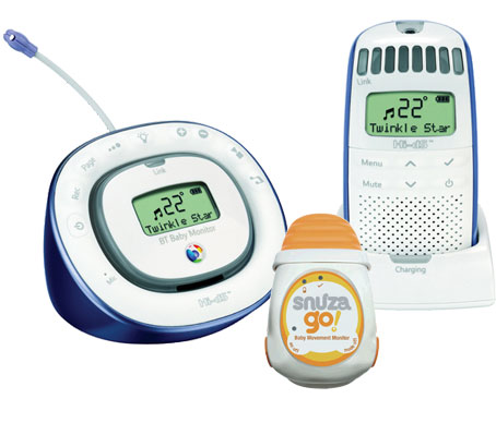 DECT Baby Monitor 150 and Snuza Go Breathing