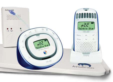 Digital Baby Monitor150 Plus BabySense ii