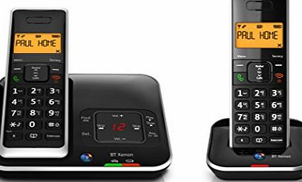 BT Xenon 1500 DECT Digital Cordless Phone with Digital Answering Machine amp; Caller Display - Twin