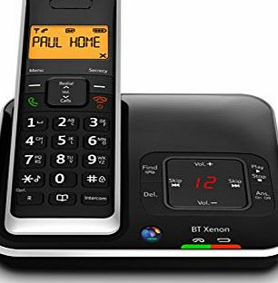 Xenon 1500 DECT Digital Enhanced Cordless Telephone with Answer Machine - Single