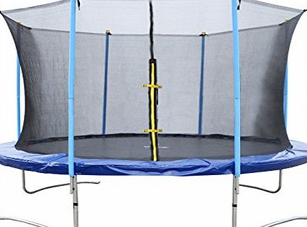 BTM Sports Trampoline With Safety Net Enclosure 6FT 8FT 10FT 12FT 14FT (6FT)