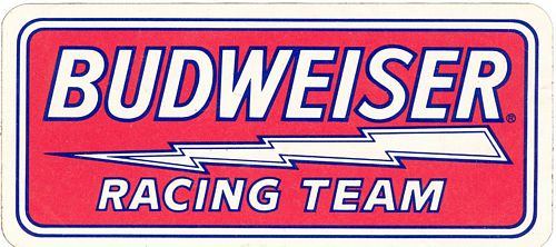 Racing Team Sticker (15cm x 7cm)