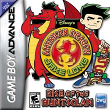 Disneys American Dragon Jake Long Rise of the Huntsclan GBA