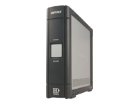 DriveStation Combo with TurboUSB HD-HS500IU2 - hard drive - 500 GB - FireWire / Hi-Speed USB