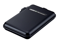 MiniStation TurboUSB HD-PF250U2 - hard drive - 250 GB - Hi-Speed USB