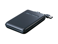 MiniStation TurboUSB HD-PS80U2 - hard drive - 80 GB - Hi-Speed USB