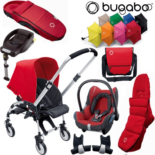 Bee Package 4 - Pushchair Cabriofix Car Seat