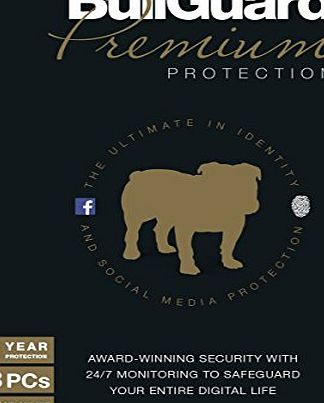 Bullguard  Internet Security Premium Protection - 1 Year - 3 Users - 5Gb (PC)