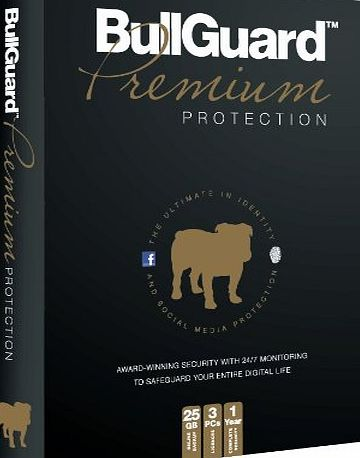 Bullguard Complete All In One Premium Protection - 3PC - 1 Year with 25GB Online Backup