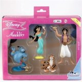 Disney Princess Aladdin 4 Figure Set