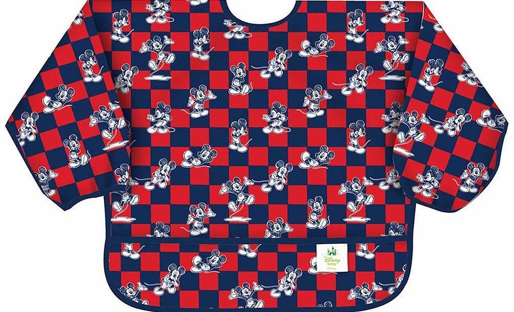 Sleeved Bib Disney Mickey Mouse 2014