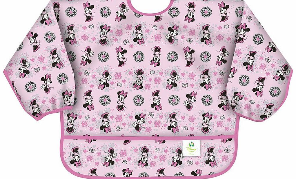 Sleeved Bib Disney Minnie Mouse 2014