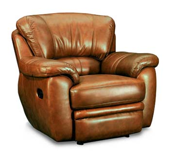 Eagle Charlotte Leather Reclining Armchair