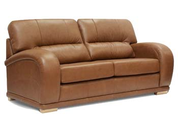 Phoenix Leather 3 seater Sofa Bed