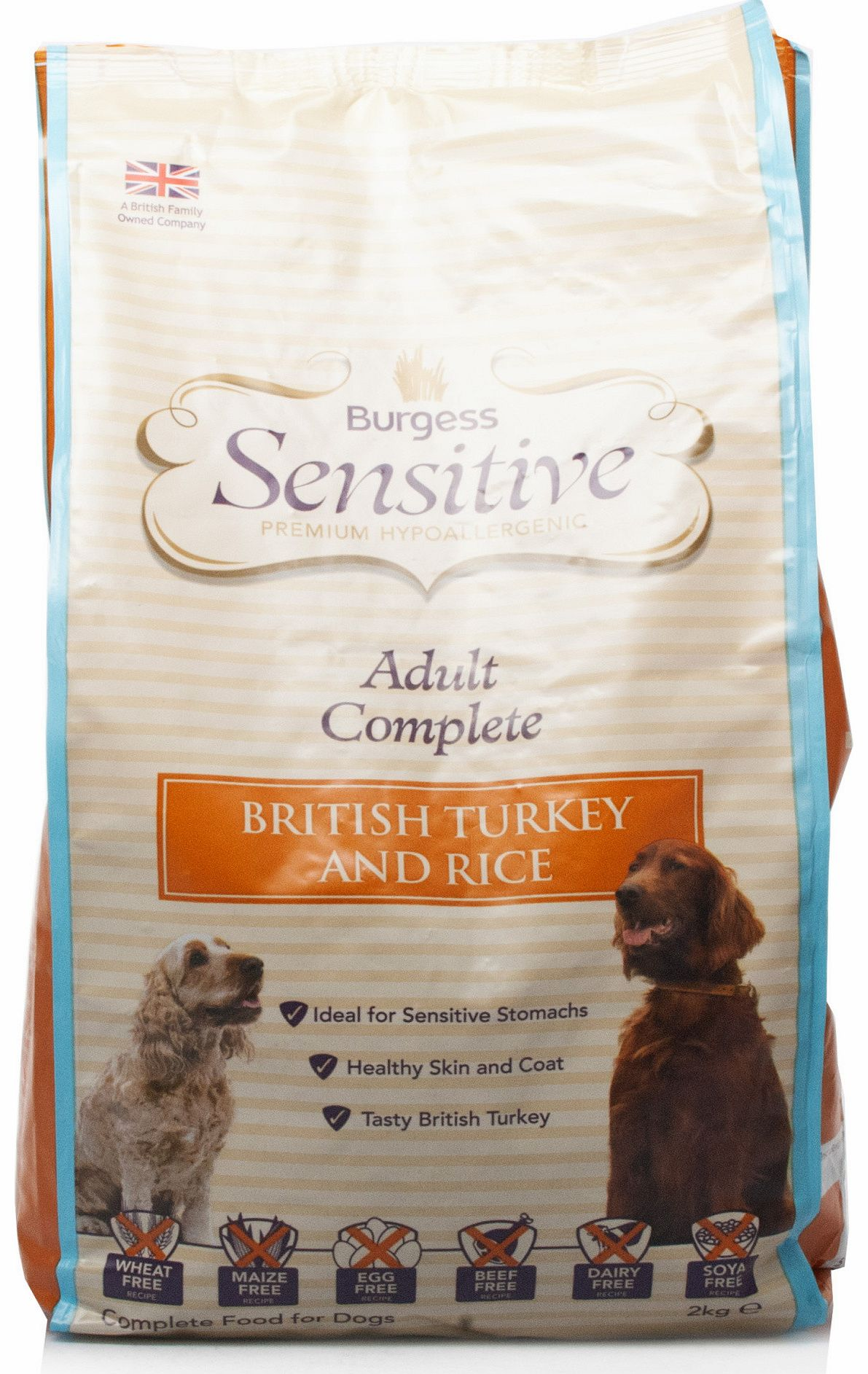 Sensitive Dog British Turkey & Rice 2kg