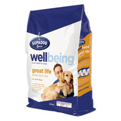 Supa Dog Wellbeing Great Life 2.5kg
