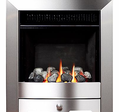 Burley Flueless Gas Fire, Environ 4247, Brushed