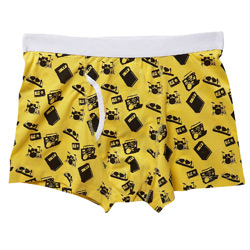 1PK Music Icons Print Trunks