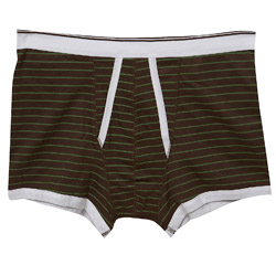 1PK Stripe Print Trunk