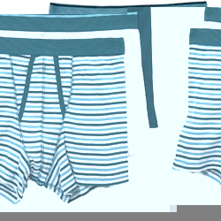 3PK A Front Stripe Trunks