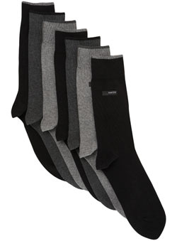 7pk Burton Heat Seal Socks