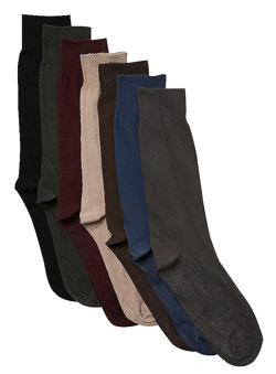 7PK Multi Coloured Socks