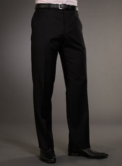 Balmain Black Suit Trousers