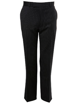 Ben Sherman Black Chalk Stripe Trousers
