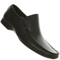 Black Ben Sherman Laser Loafer