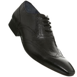 Black Chisel Point Brogue